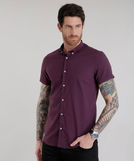 Camisa-Slim-Estampada-Vinho-8629381-Vinho_1
