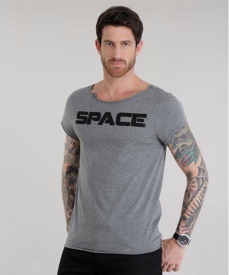 Camiseta--Space--Cinza-Mescla-Escuro-8619476-Cinza_Mescla_Escuro_1
