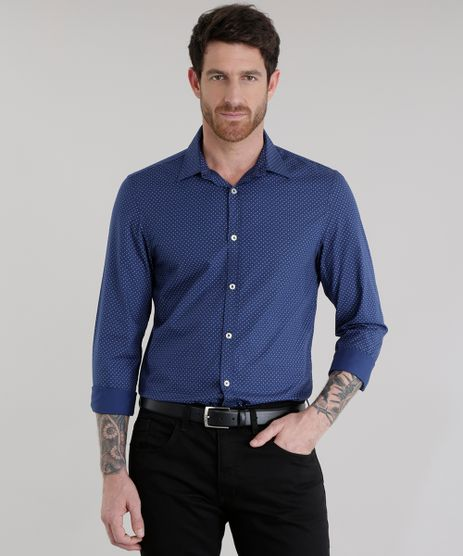 Camisa-Slim-Estampada-Azul-Marinho-8500229-Azul_Marinho_1