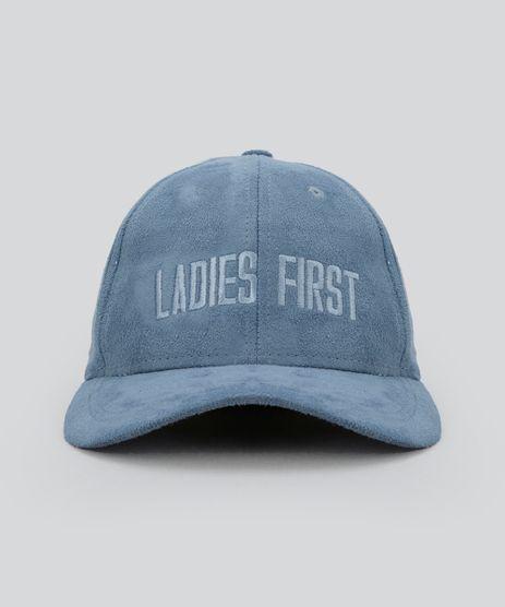 Bone-em-Suede--Ladies-First--Azul-8681651-Azul_1