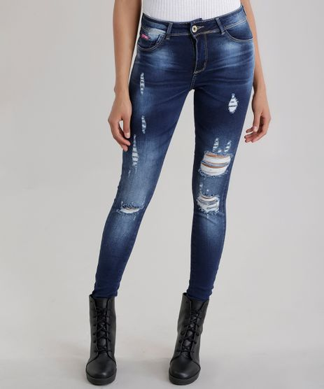 Calca-Jeans-Cigarrete-Sawary-Push-Up-Azul-Escuro-8708815-Azul_Escuro_1