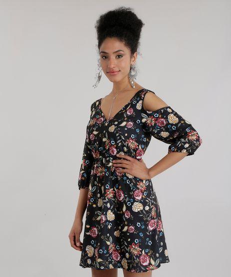 Vestido-Open-Shoulder-Estampado-Floral-Preto-8669042-Preto_1