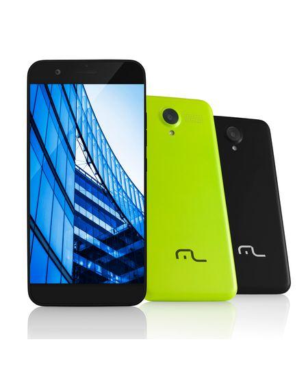 Smartphone Ms50 4g Câmera 8 Mp + 5 Mp Quad Core 1gb Ram Preto Multilaser - P9013