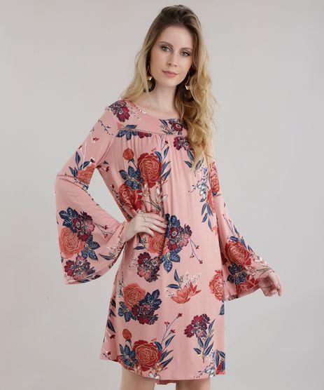 Vestido-Amplo-Estampado-Floral-Rose-8653644-Rose_1