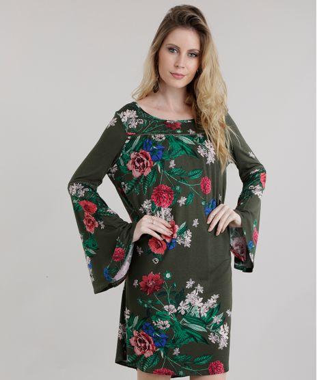 Vestido-Amplo-Estampado-Floral-Verde-Militar-8653134-Verde_Militar_1