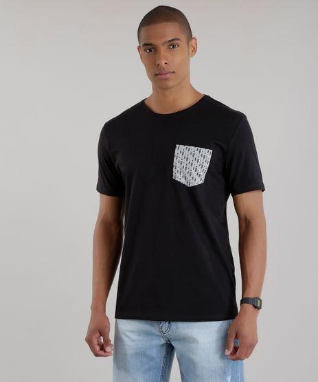 Camiseta-com-Bolsos-Estampado-Preta-8581025-Preto_1