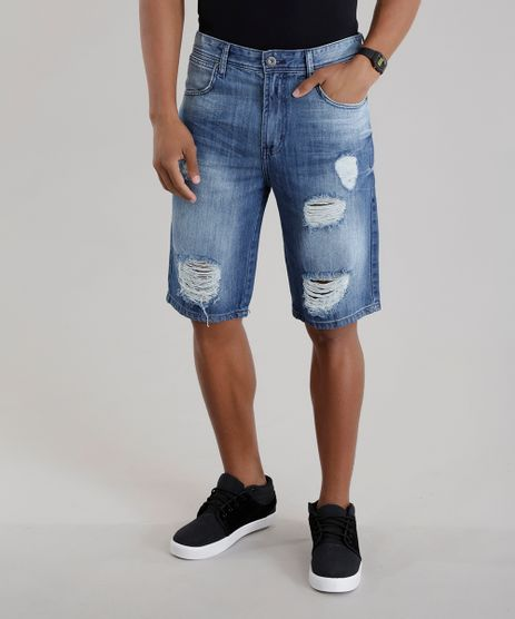 Bermuda-Jeans-Slim-Azul-Medio-8679148-Azul_Medio_1