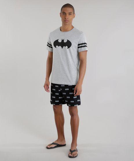 Pijama-Batman-Cinza-Mescla-Claro-8577416-Cinza_Mescla_Claro_1