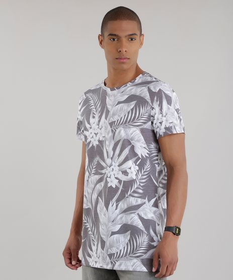 Camiseta-Longa-Estampada-Floral-Chumbo-8683191-Chumbo_1