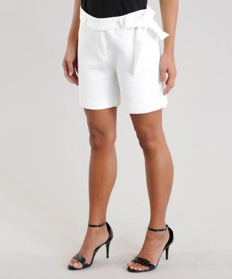 Short-em-Jacquard-com-Cinto-em-Algodao---Sustentavel-Off-White-8359651-Off_White_1