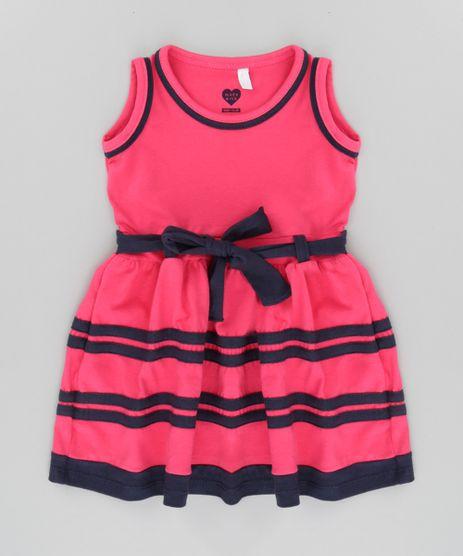 Vestido-com-Laco-Rosa-Escuro-8661788-Rosa_Escuro_1