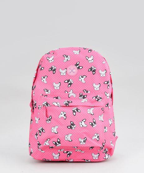 Mochila-Estampada-de-Cachorros-Pink-8702142-Pink_1