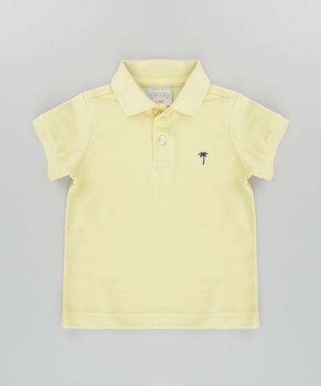 Polo-em-Piquet-Amarela-8647878-Amarelo_1