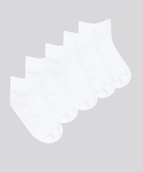 Kit-de-5-Meias-Branca-8312847-Branco_1