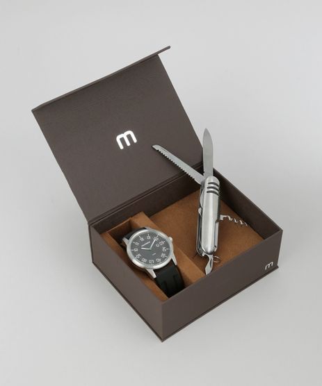 Kit-de-Relogio-Analogico-Mondaine-Masculino---Canivete-Suico---94999G0MVNU2K-Prateado-8686582-Prateado_1