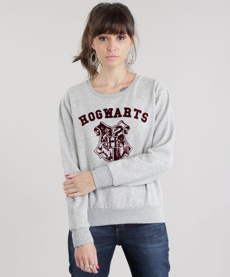 Blusao-em-Moletom--Hogwarts-Alumni--Cinza-Mescla-8680284-Cinza_Mescla_1