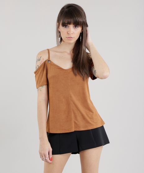 Blusa-Open-Shoulder-em-Suede-Caramelo-8694031-Caramelo_1
