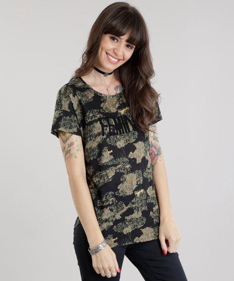 Blusa-Estampada-Camuflada--Feminist--Verde-Militar-8641571-Verde_Militar_1