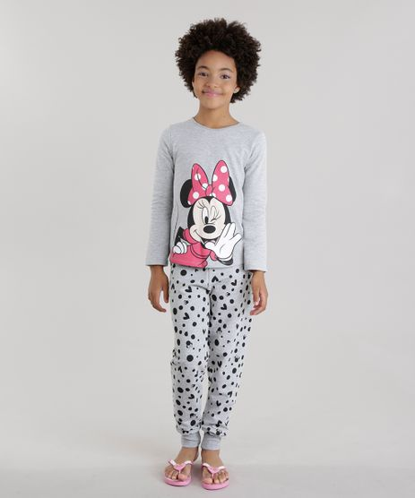Pijama-em-Moletom-Minnie-Cinza-Mescla-8616808-Cinza_Mescla_1