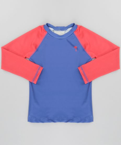 Camiseta-com-Protecao-UV-50-Azul-Escuro-8661906-Azul_Escuro_1