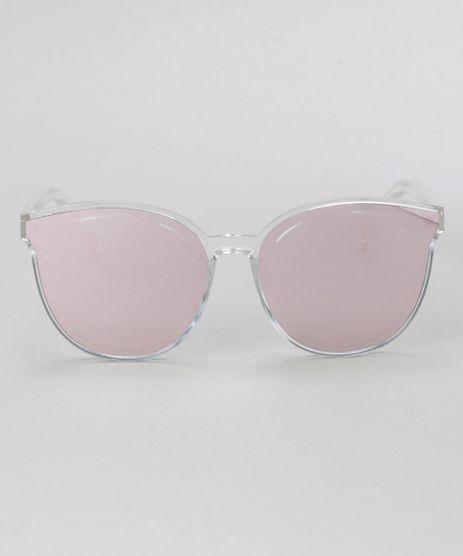 Oculos-de-Sol-Redondo-Feminino-Oneself-Branco-8732584-Branco_1