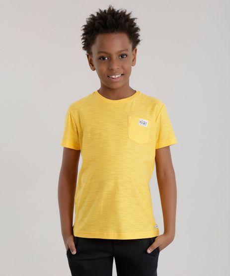 Camiseta-com-Bolso-Amarela-8611807-Amarelo_1