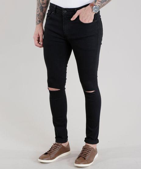 Calca-Jeans-Super-Skinny-Preta-8674208-Preto_1