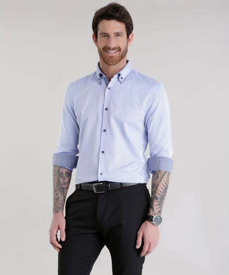 Camisa-Slim-em-Algodao---Sustentavel-Azul-Claro-8584381-Azul_Claro_1