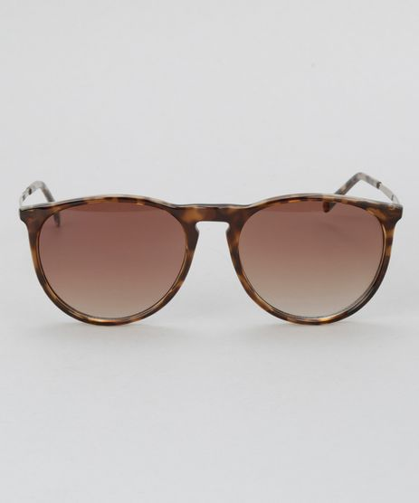 Oculos-de-Sol-Redondo-Feminino-Oneself-Tartaruga-8628920-Tartaruga_1