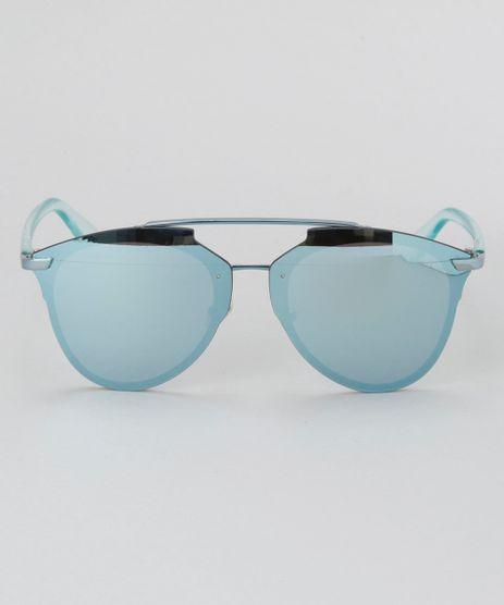Oculos-de-Sol-Redondo-Feminino-Oneself-Azul-Claro-8732548-Azul_Claro_1