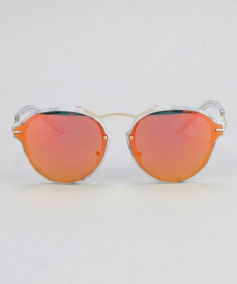 Oculos-de-Sol-Redondo-Feminino-Oneself-Branco-8732569-Branco_1