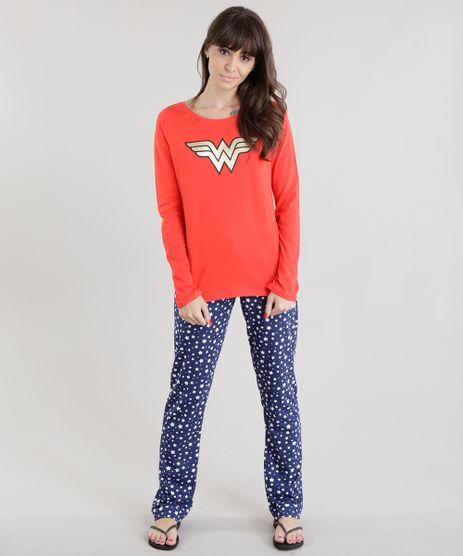 Pijama-Mulher-Maravilha-Vermelho-8630013-Vermelho_1