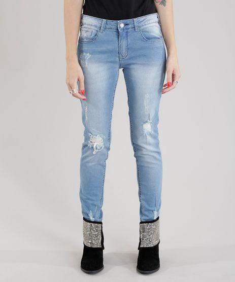 Calca-Jeans-Skinny-em-Algodao---Sustentavel-Azul-Claro-8674494-Azul_Claro_1