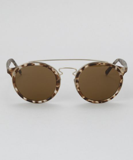 Oculos-de-Sol-Redondo-Feminino-Oneself-Tartaruga-8628908-Tartaruga_1