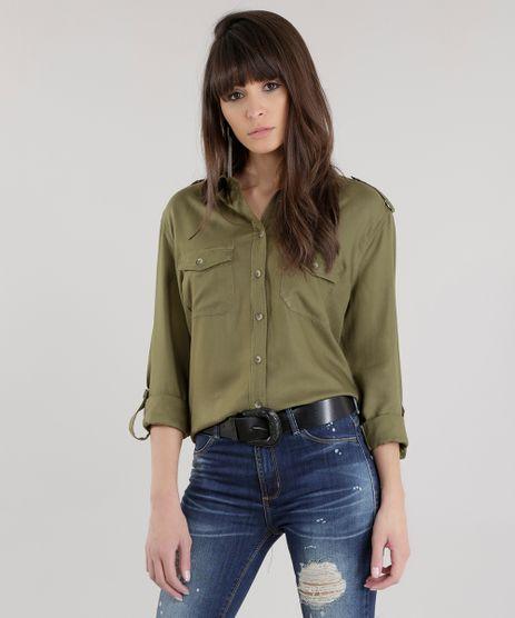 Camisa--Girls--Verde-Militar-8588434-Verde_Militar_1