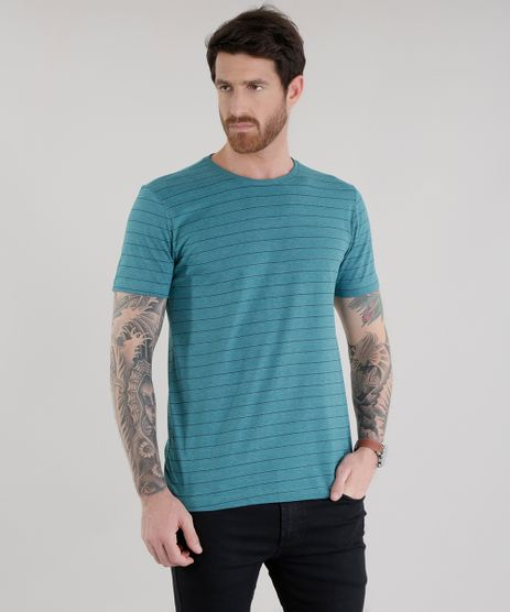 Camiseta-Listrada-Verde-Escuro-8583822-Verde_Escuro_1