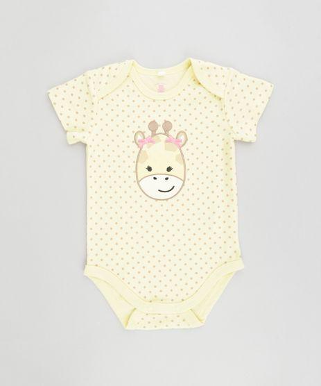 Body-Estampado-Girafa-em-Algodao---Sustentavel-Amarelo-8499516-Amarelo_1