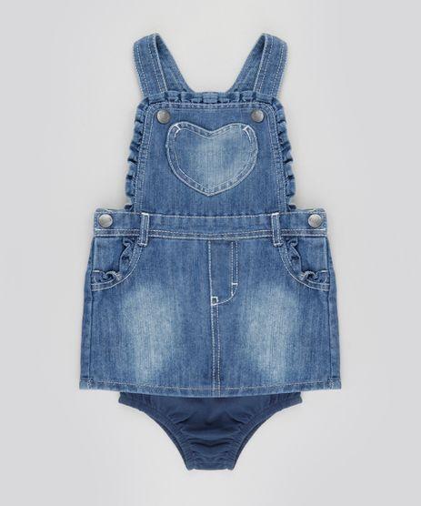 Salopete-Jeans-com-Babados---Calcinha-em-Algodao---Sustentavel--Azul-Medio-8496021-Azul_Medio_1