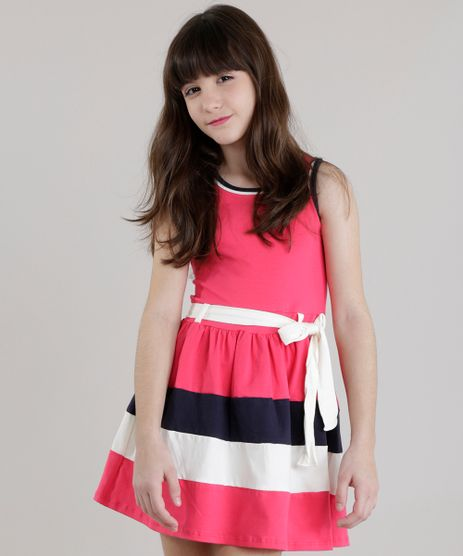 Vestido-com-Laco-Rosa-Escuro-8423958-Rosa_Escuro_1