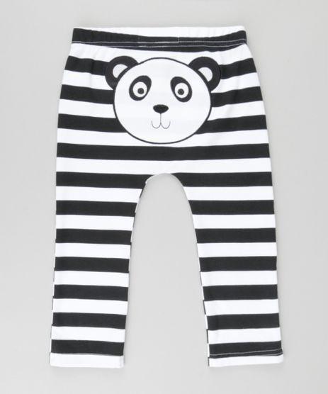 Calca-Listrada-Panda-em-Algodao---Sustentavel-Branca-8581169-Branco_1