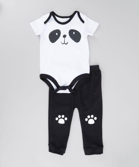 Conjunto-de-Body-Panda-Branco---Calca-em-Moletom-Preta-8683240-Preto_1