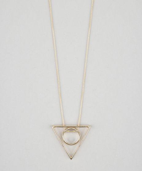 Colar-com-Pingente-Geometrico-Dourado-8627793-Dourado_1