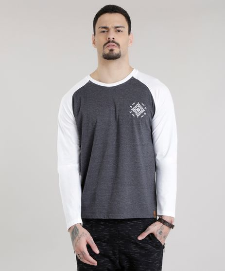 Camiseta-com-Estampa-Etnica-Cinza-Mescla-Escuro-8616158-Cinza_Mescla_Escuro_1