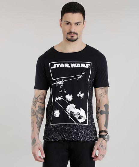Camiseta-Star-Wars-Preta-8681158-Preto_1