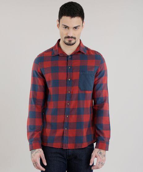 Camisa-Xadrez-em-Flanela-Vermelha-8623394-Vermelho_1