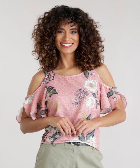 Blusa-Open-Shoulder-Estampada-Floral-Rose-8698412-Rose_1