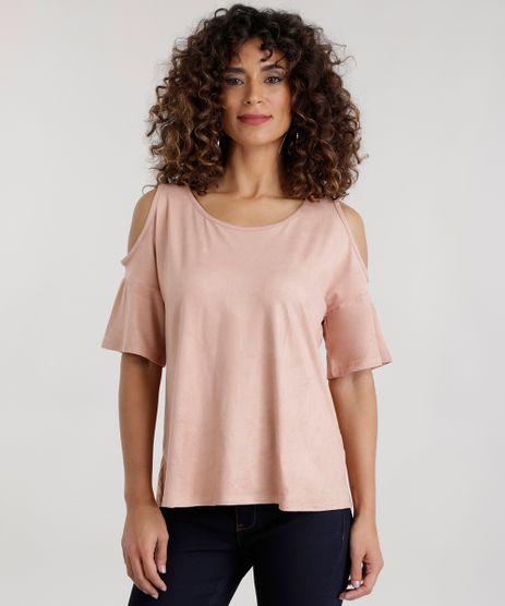 Blusa-Open-Shoulder-em-Suede-Rose-8714375-Rose_1