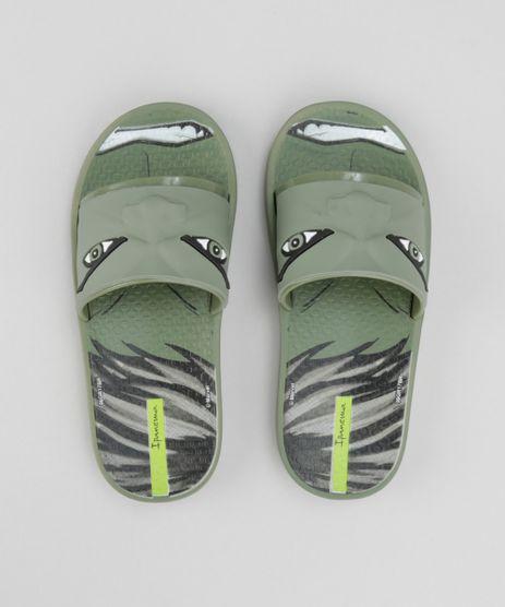 Chinelo-Slide-Grendene-Hulk-Verde-8702131-Verde_1