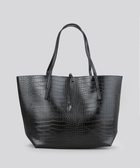 Bolsa-Shopper---Necessaire-Preta-8626191-Preto_1