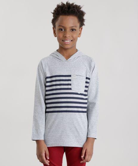 Camiseta-com-Estampa-de-Listra-Cinza-Mescla-8634033-Cinza_Mescla_1